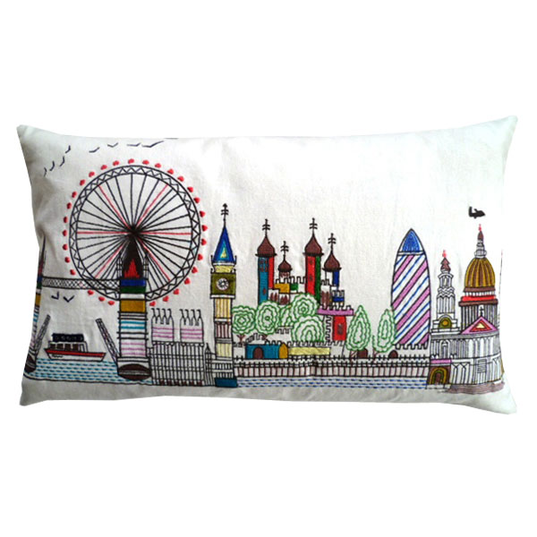 London Skyline Cushion: £19.99