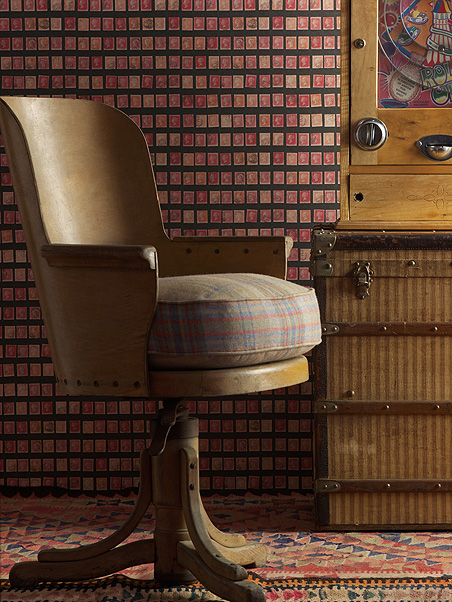 Penny Post Postage Stamp Wallpaper: £49.90 per 10m roll