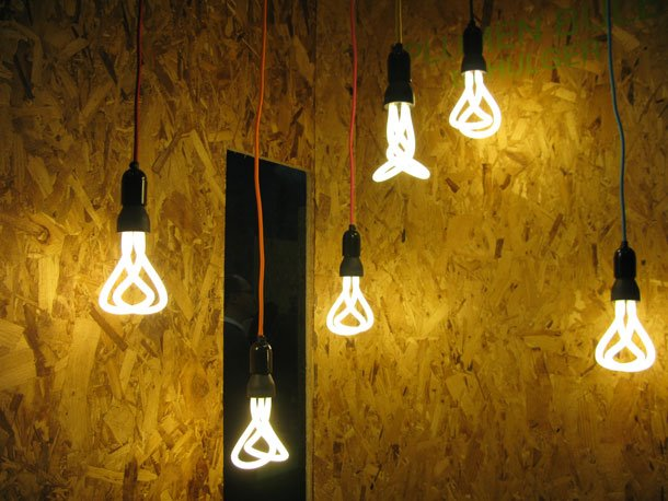 The world's first designer low-energy light bulb by Plumen