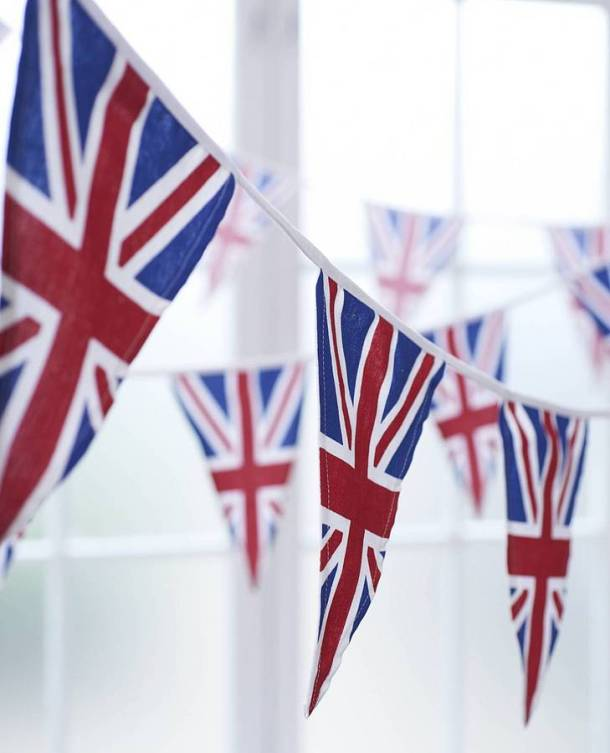 Union Jack Bunting by The Cotton Bunting Company