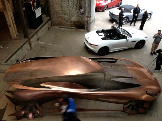 Inside the Farmiloe Building - CDW is sponsored by Jaguar
