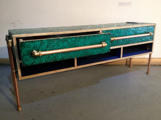 Up-cycled furniture from The Living Furniture Project