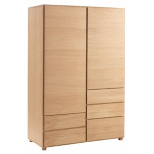 Habitat double wardrobe