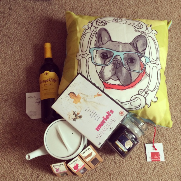 All the perfect elements for a lovely night in!